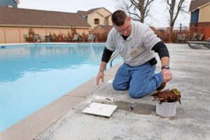 Physical Swimming Pool Cleaning in Salt Lake City