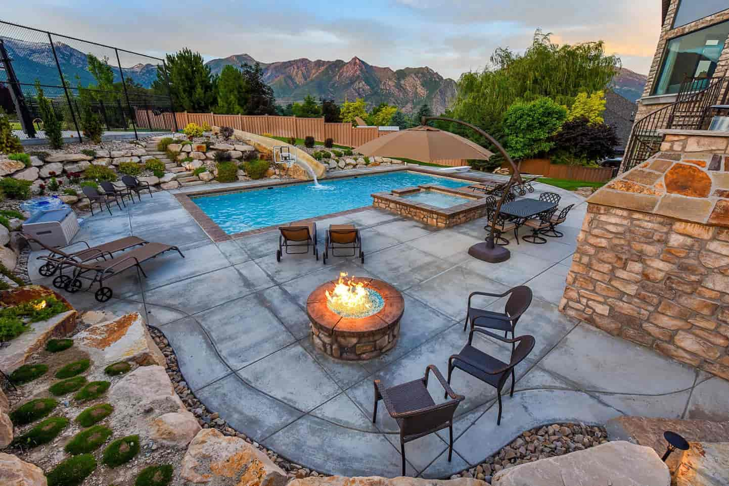 Outdoor Fire Pits in Salt Lake City