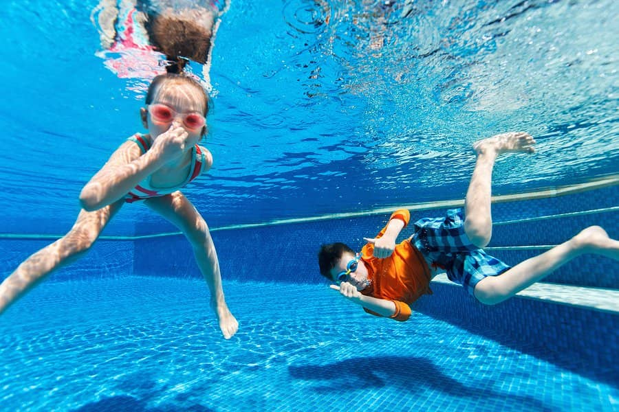 Keeping Kids Safe Around the Pool at Deep Blue Pools and Spas