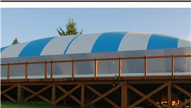 Pool Domes by Deep Blue Pools and Spas