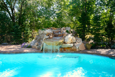 Water Features Garden Fountains Salt Lake City Deep Blue Pools And Spas