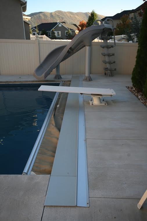 Diving Boards Slides Portfolio Of Deep Blue Pools And Spas